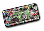 Koolart STICKERBOMB STYLE Design For Green Ford Focus RS Hard Case Cover Fits Apple iPhone 6 & 6s